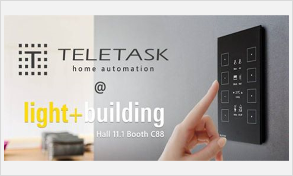 TELETASK на выставке Light+Building во Франкфурте